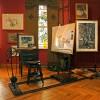 fotografia przedstawaijąca pracownię malarską w muzeum