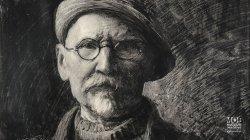 Autoportret Leona Wyczółkowskiego - przedstawienie graficzn