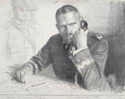 L.Wyczółkowski, Generał Jung, 1924, MOB W. 199