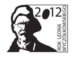 logotyp Roku Leona Wyczółkowskiego - monochromatyczny