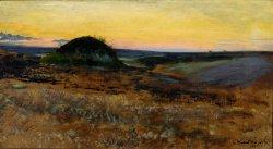 Leon Wyczółkowski, Kurhan, 1894, MOB. W. 518