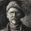 graficzny autoportret Leona Wyczółkowskiego