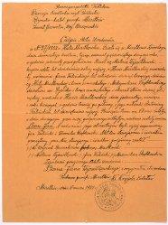 Odpis z Aktu Urodzenia, 27/1852, MOB WB 1